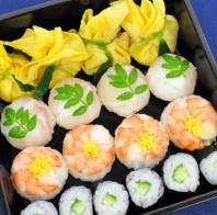 白みそ酢の手毬寿司2