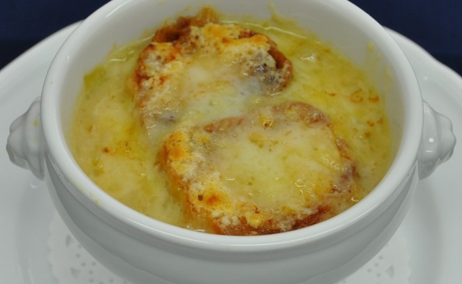 キャベツのグラタンスープ12